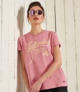 Superdry Workwear Graphic Tee Dusty Rose (5AE)